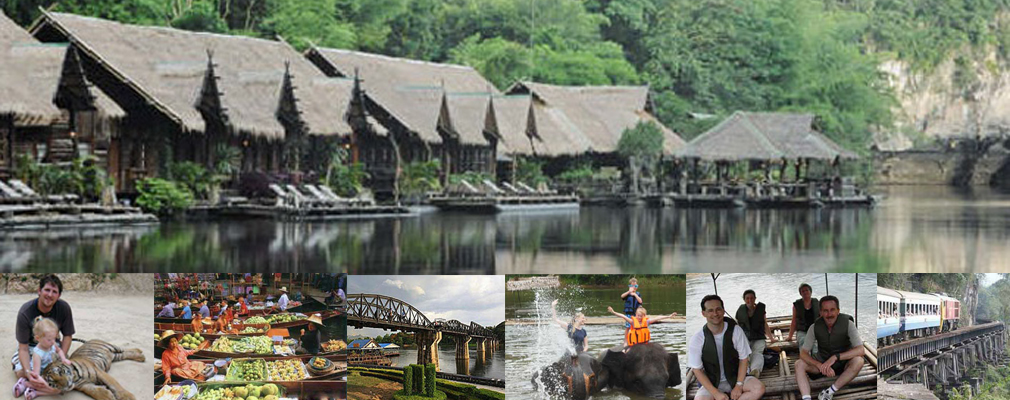 2 Day Adventure Tigers, Elephants, Monkeys, Buddha Cave, Trestle Bridge, River Kwai