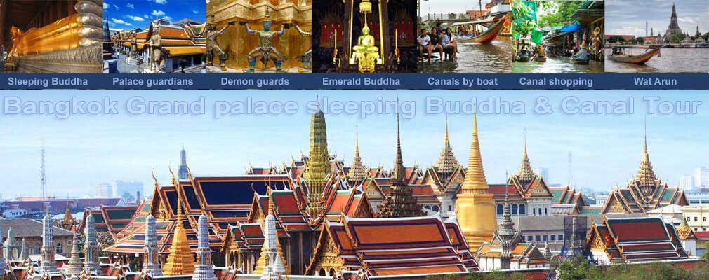 FULL Day Private Tour Bangkok of Grand Palace and the canals of Bangkok