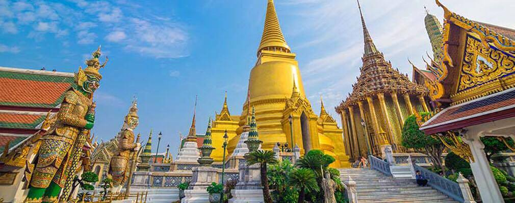 Grand Palace & Emerald Buddha & Temple of Dawn
