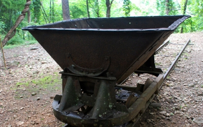 Dump buckets used on Death raily way