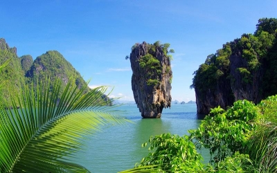 Famous Icon on James Bond Island
