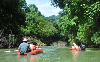 Canoeing in Khao So