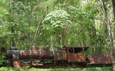 Death railway ghost train