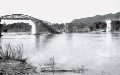 The-steel-bridge-was-destroyed