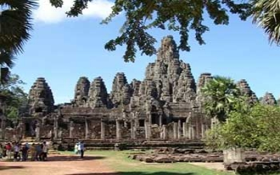 Bayon Temple 52 towers