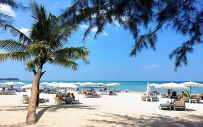 Beaches Pattaya white sand