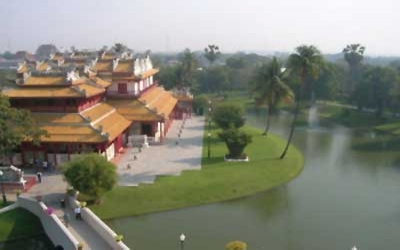 Summer Palace from Pagoda towers
