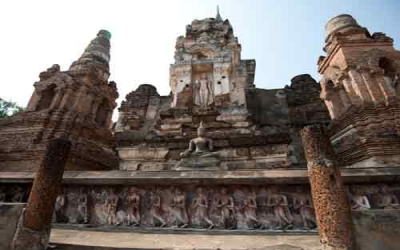 Lop buri ancient temple