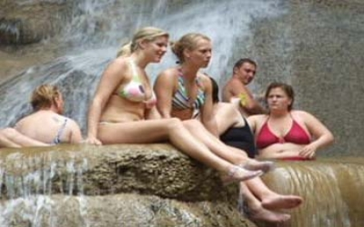 Earwan water fall  swimming